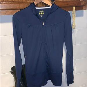 Lole technical fabric full zip jacket